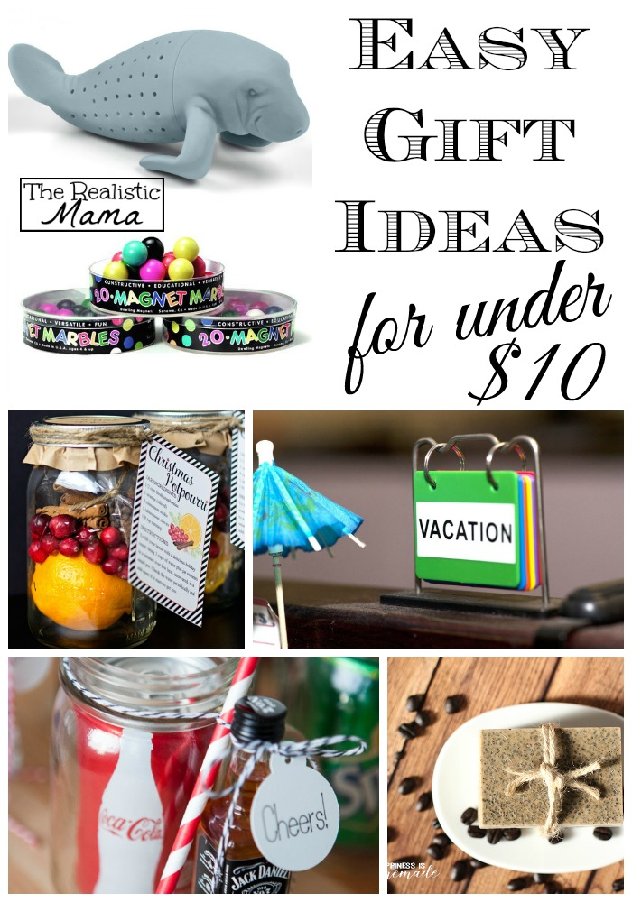 Easy Gift Ideas Under 10