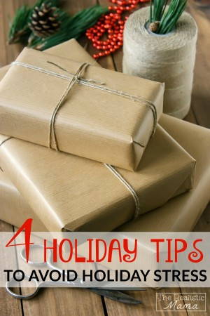 4 Must-Read Holiday Survival Tips to Avoid Holiday Stress