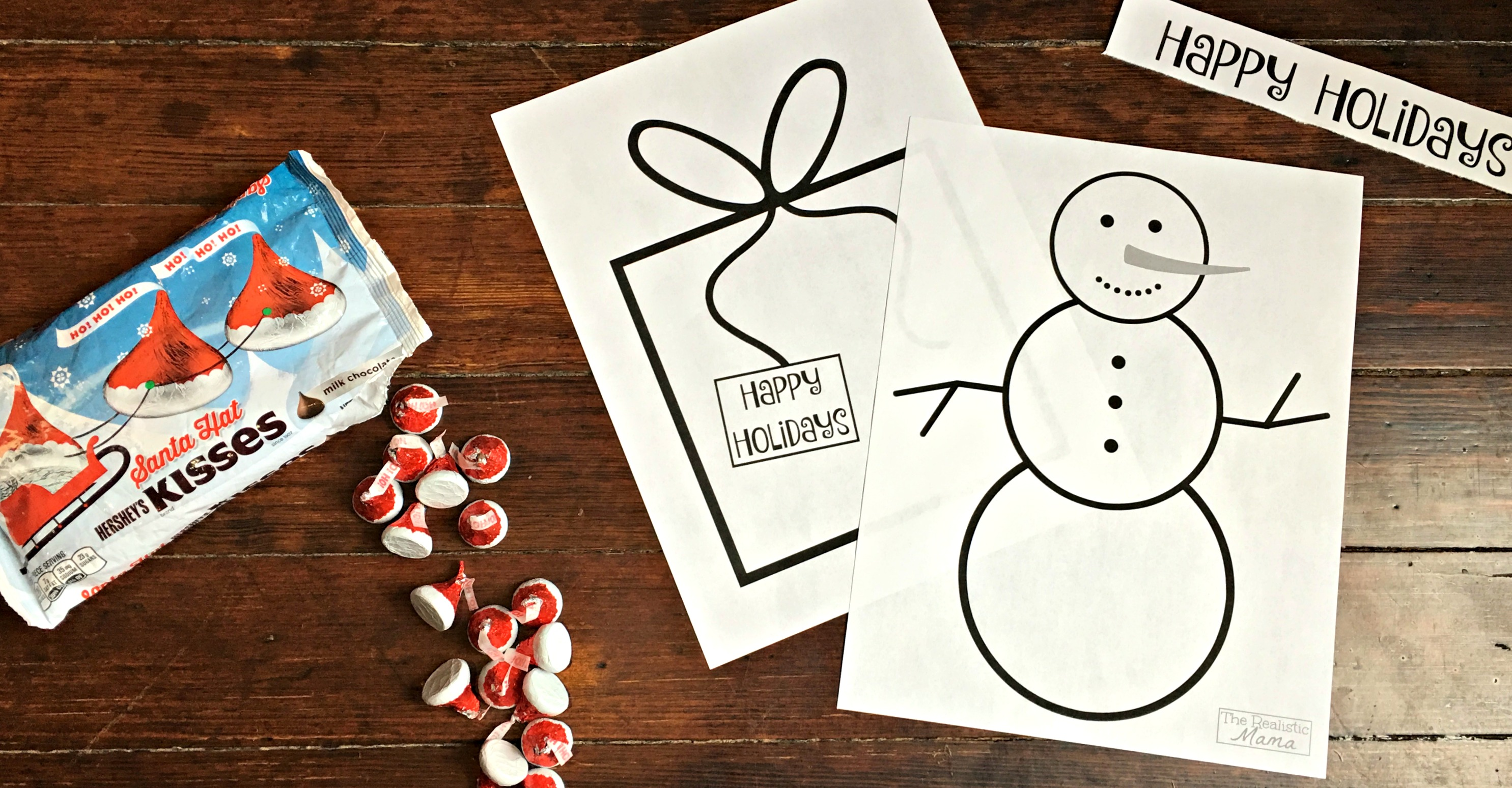 Free Chocolate Craft Holiday Printables