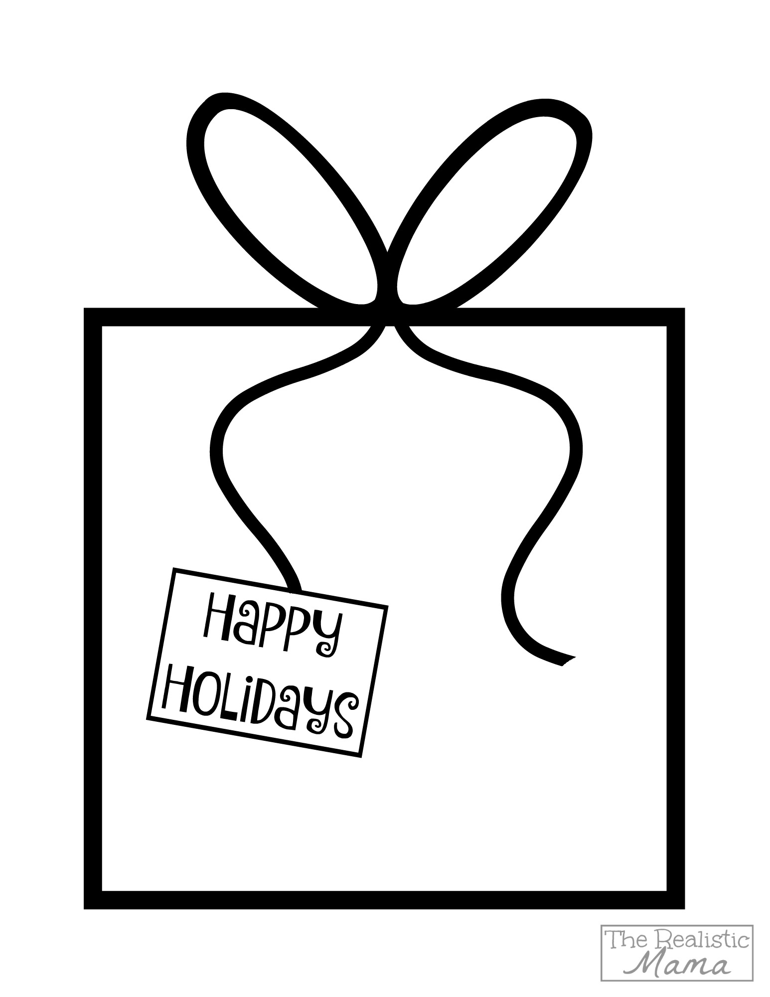 Holiday Gift Printable