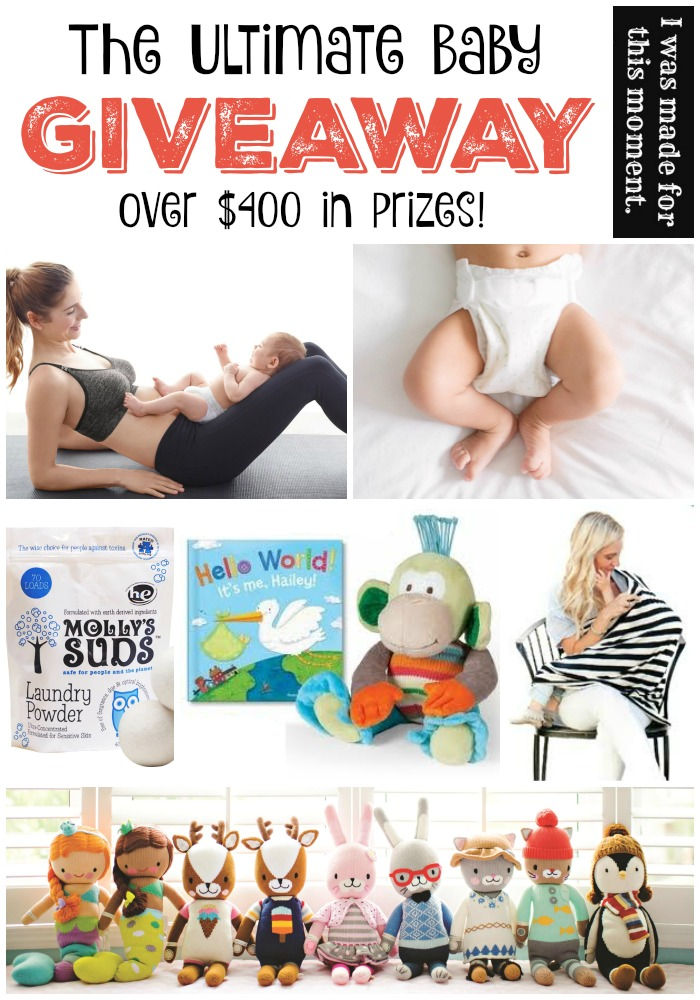 The Ultimate Baby Giveaway! Come Enter!