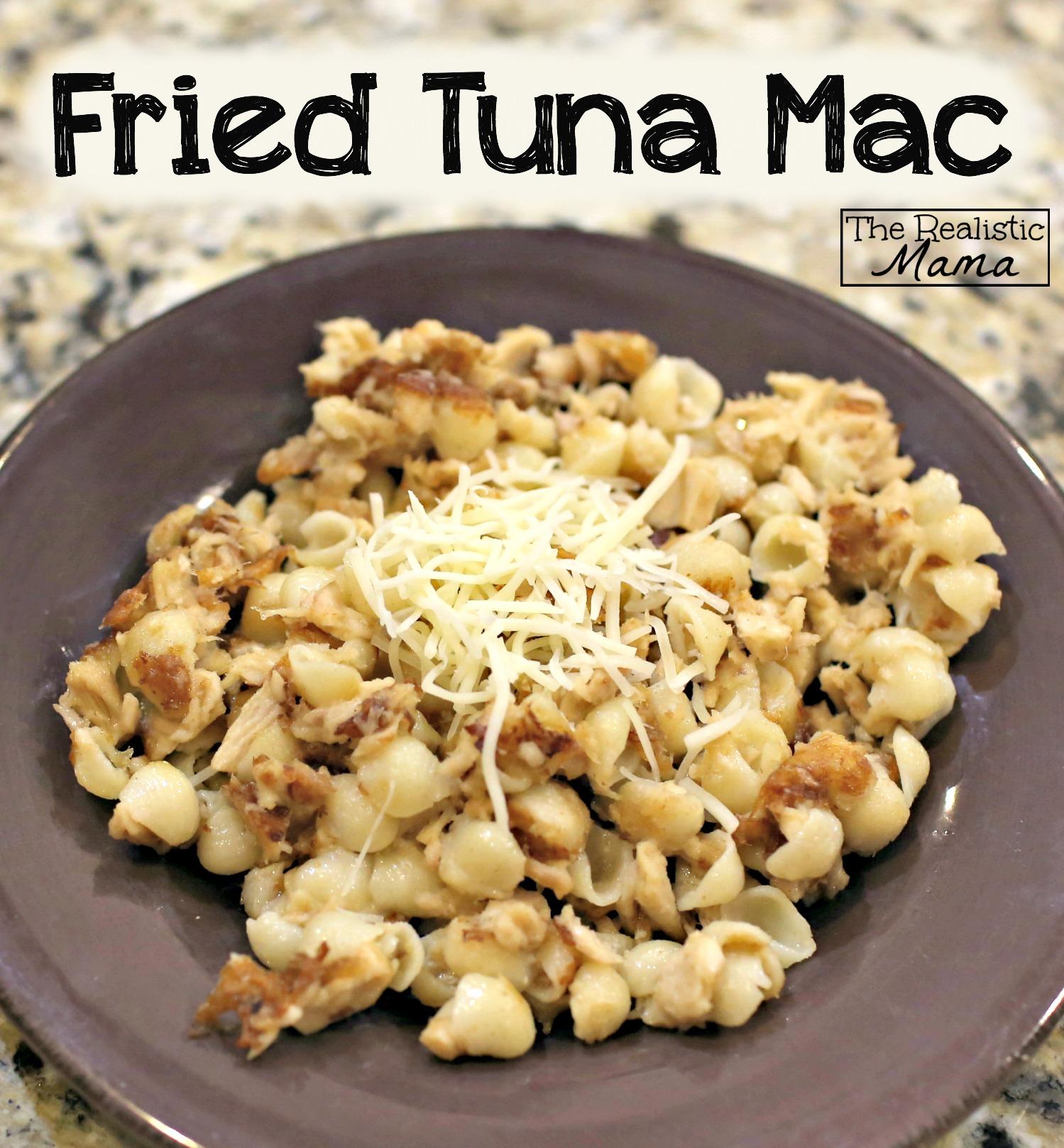 Fried Tuna Mac Recipe