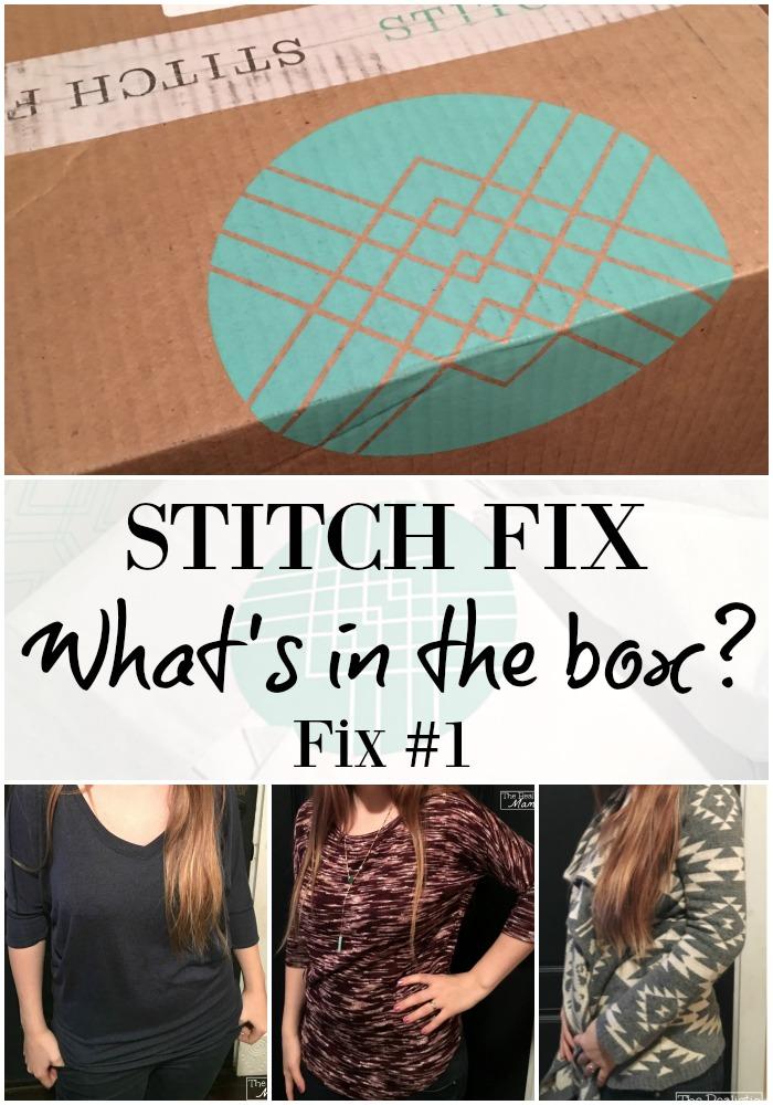 What's in a Stitch Fix Box Fix #1