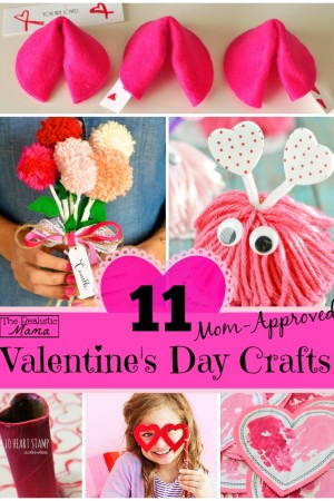 11 Mom-Approved Valentine's Day Crafts