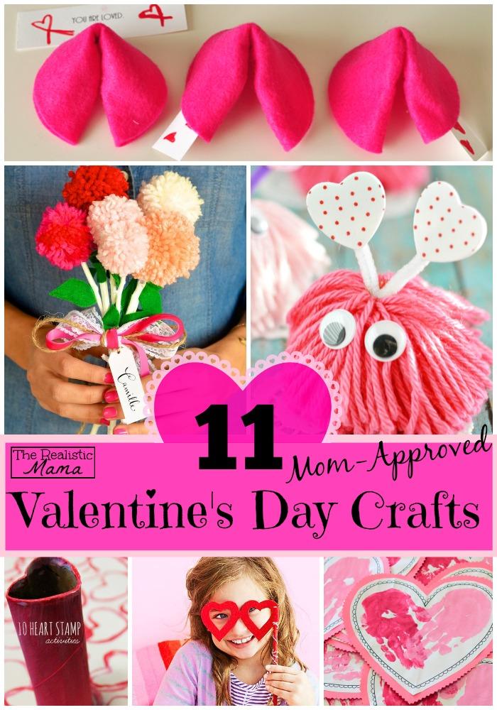 valentines day crafts - Mom Valentine