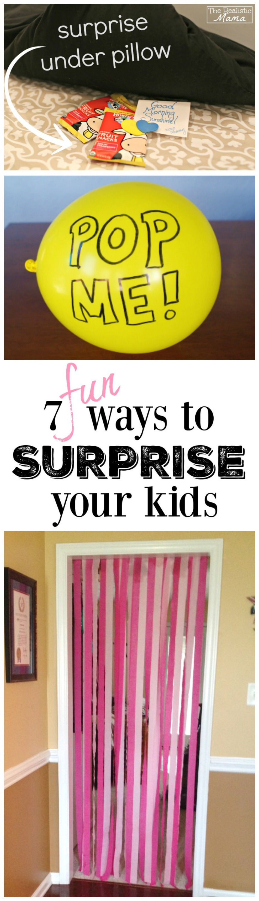 7 fun and easy ways to surprise your kids