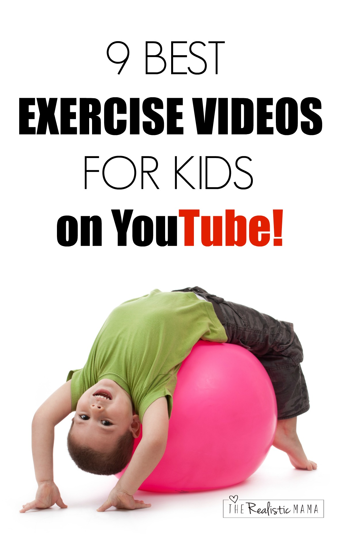 Exercise Videos for Kids on YouTube