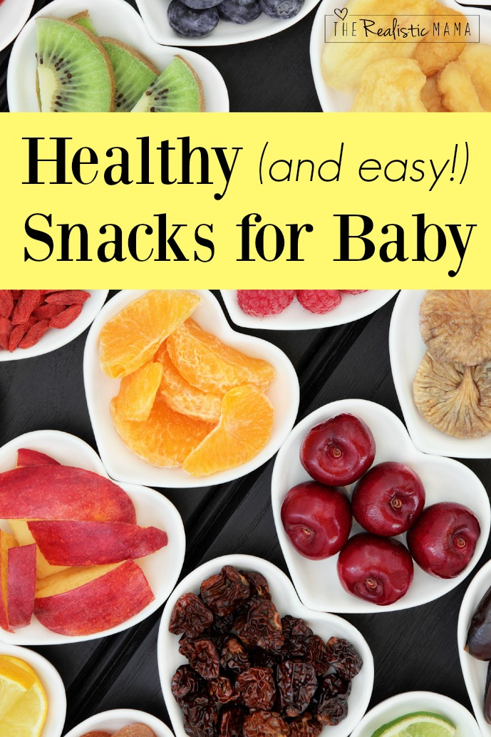 Healthy Snacks for Babies