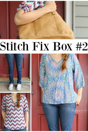 Stitch Fix Box #2 - What's in the Box