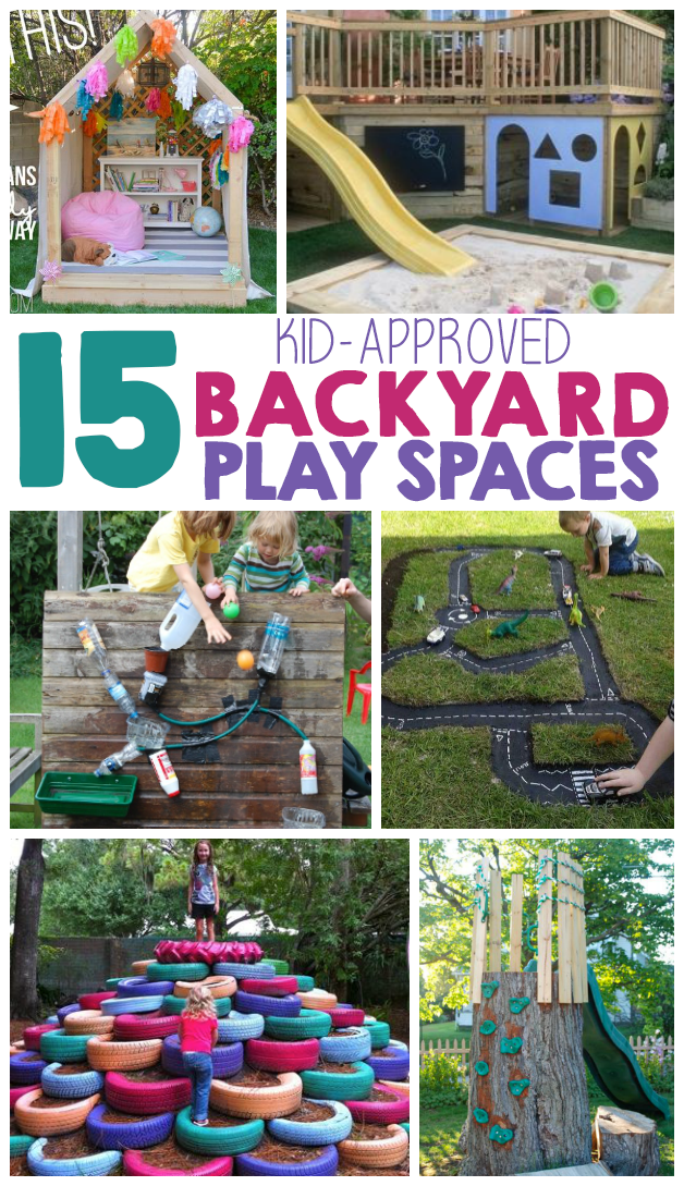 15 backyard play space ideas for kids the realistic mama