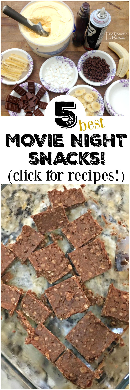 Best Movie Night Snacks!