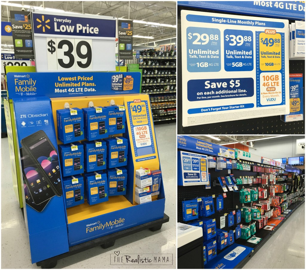 Family Mobile at Walmart
