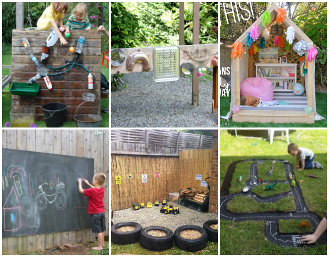Backyard Play Space Ideas For Kids The Realistic Mama - Backyard play ideas