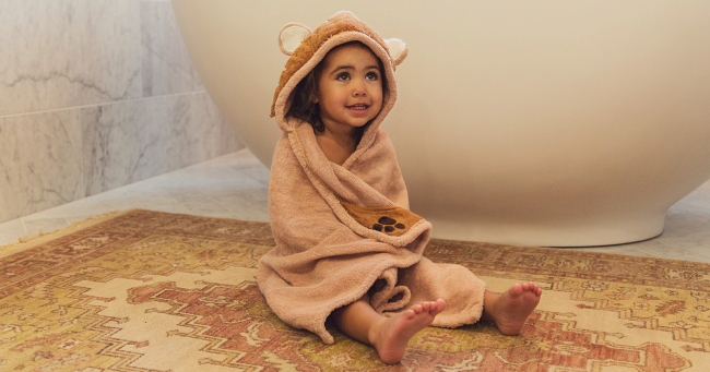 Free Hooded Towel for Kids