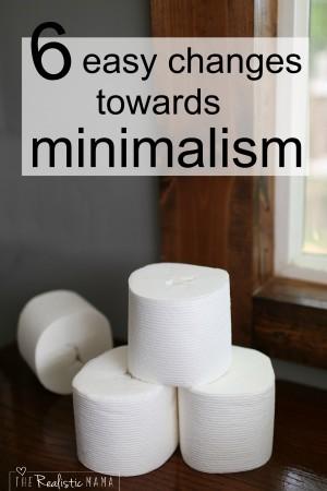 6 Easy Steps Towards Minimalism