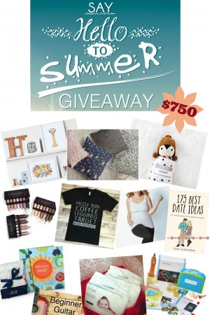 Favorite Things Summer Giveaway $750 Value