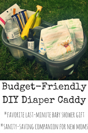 Budget-Friendly DIY Diaper Caddy