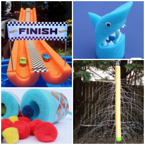 Pool Noodle Craft