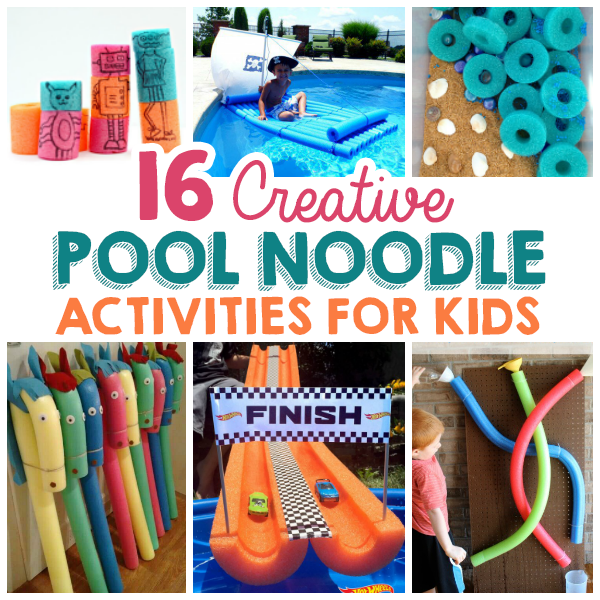 16 Creative Pool Noodle Activities For Kids