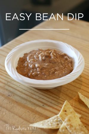 Easy Bean Dip Recipe For Busy Nights