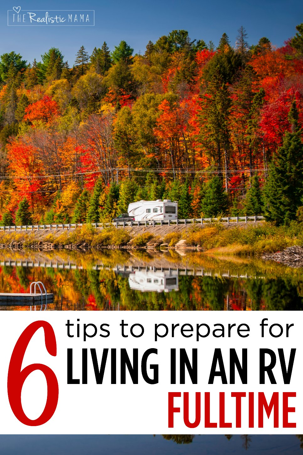 6 tips to prepare for living in an RV fulltime