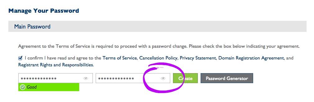 8. Set Password