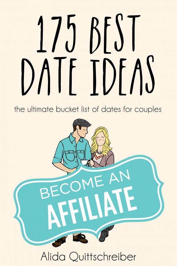 Become an Affiliate of 175 Best Date Ideas: make 50% per sale you refer!
