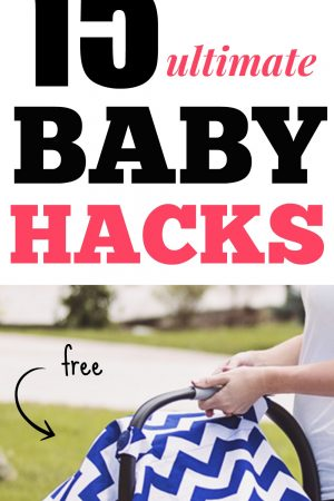 Great list of baby hacks! 15+ ideas to make a new mom's life easier!!