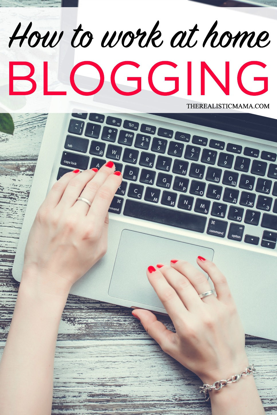 How to work at home blogging and make FULL TIME income!! She only works 3 hours a day!