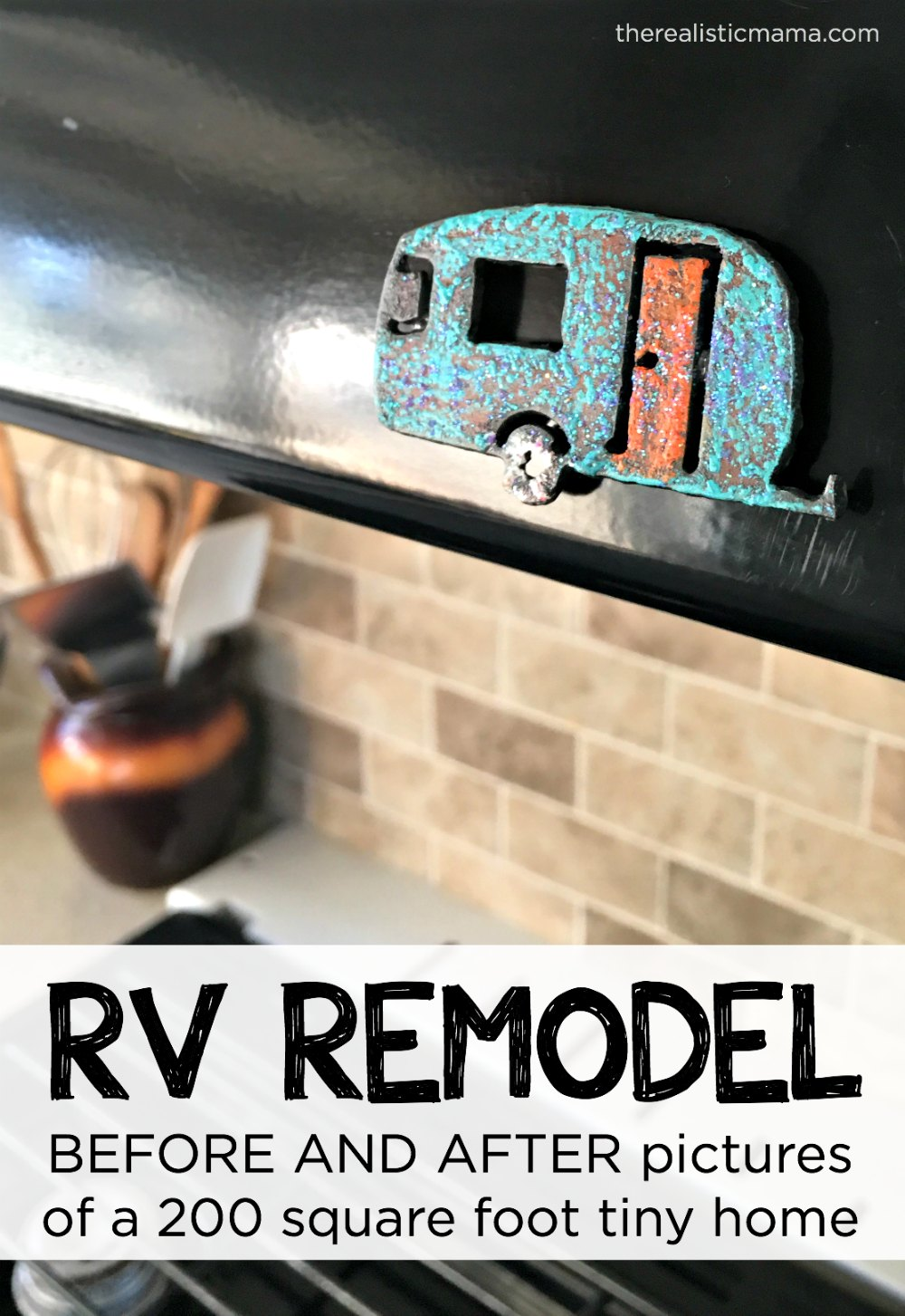 RV Remodel BEFORE & AFTER pictures
