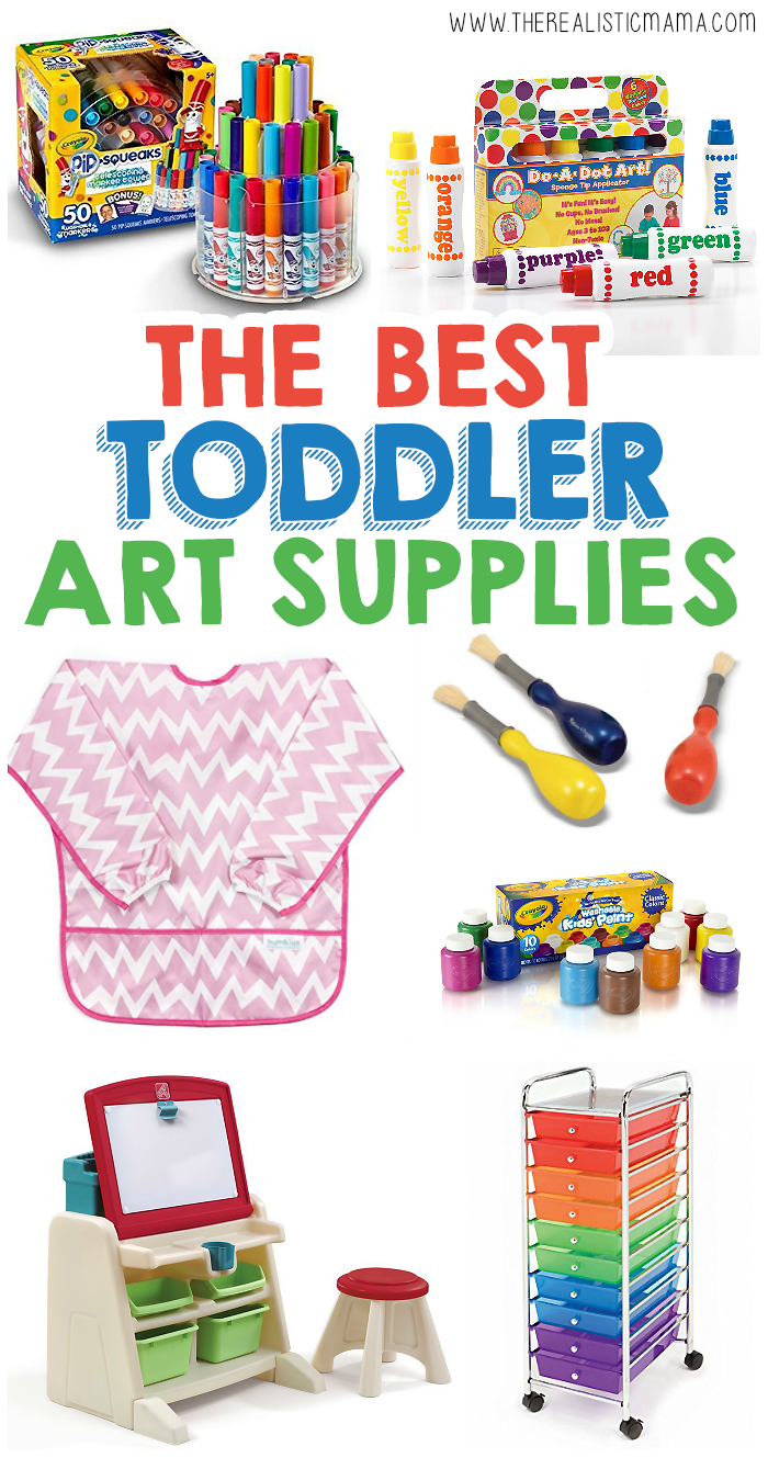 The Best Art Supplies For Toddlers
