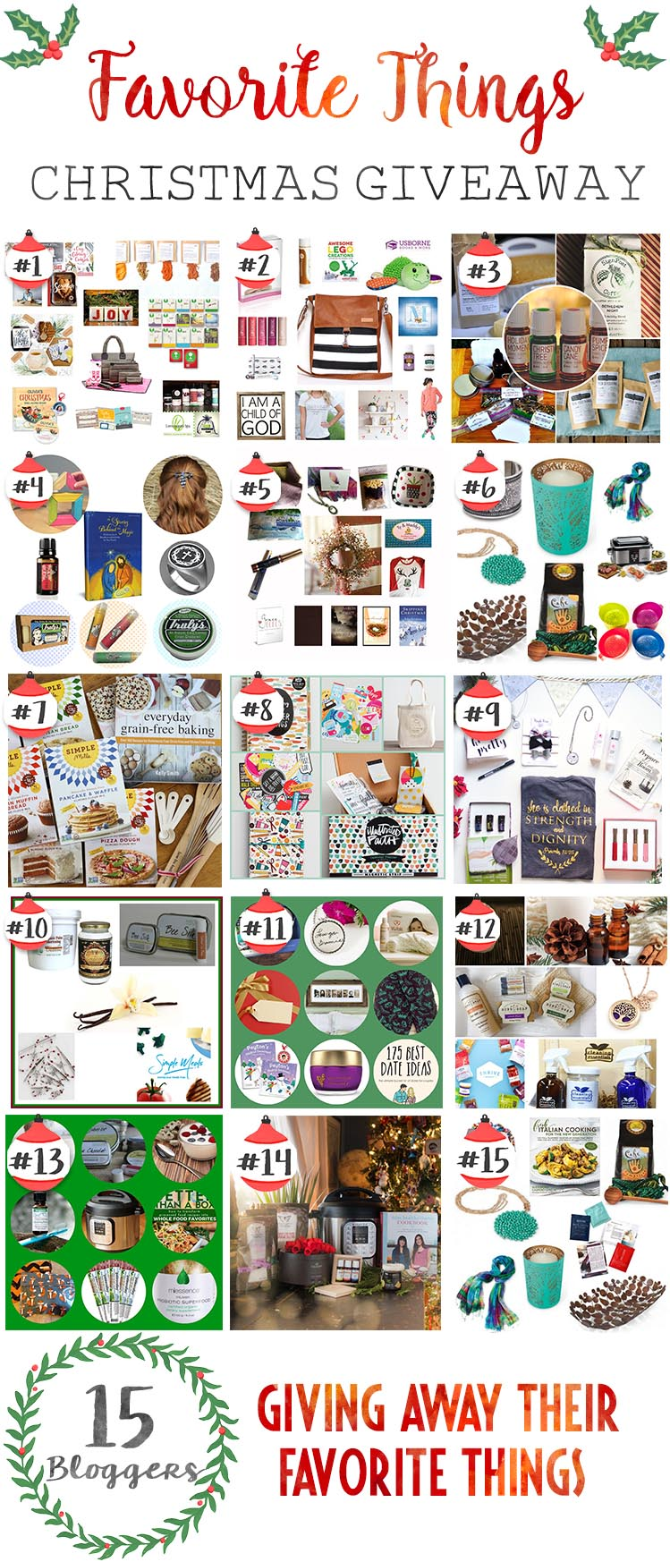 15 Huge Holiday Giveaways!