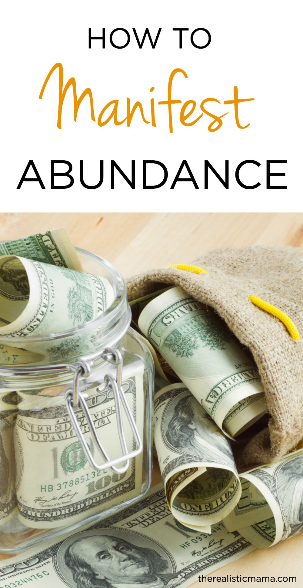 How to Manifest Abundance