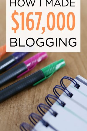 How I made $167,000 blogging