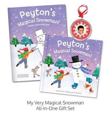 Personalized Holiday Book