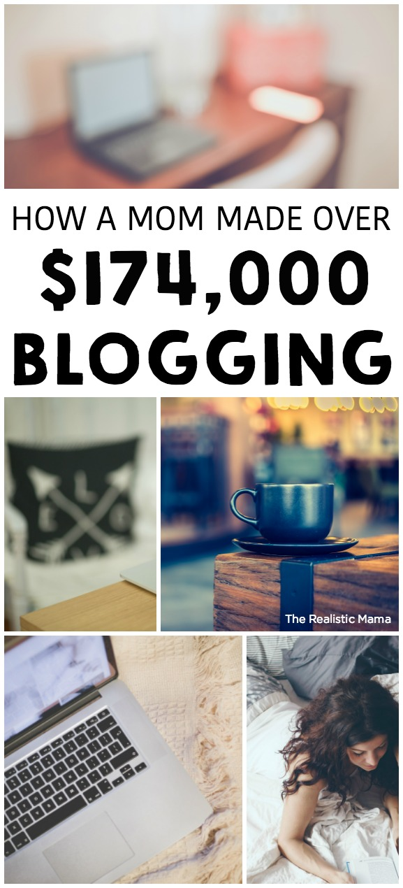 OMG! How to start a blog. A Mom Made Over $174,000 Blogging!!