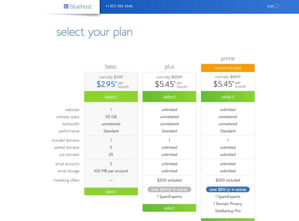 2 - Select Plans (Promo)