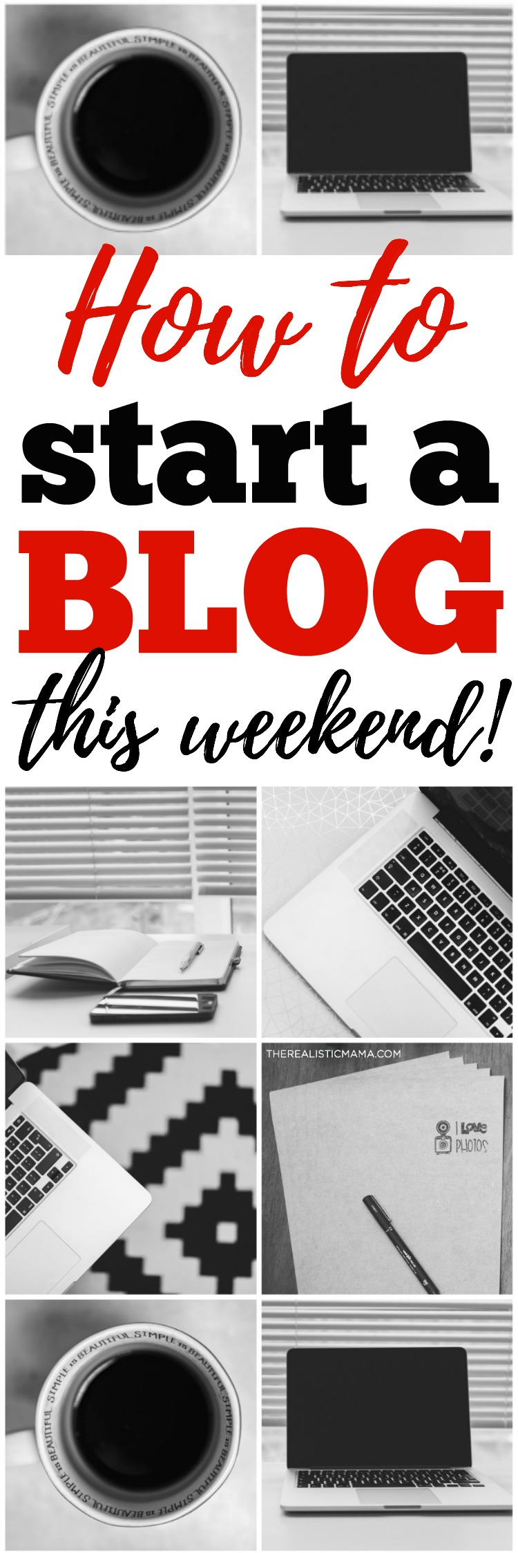 Easy! How to Start a Blog This Weekend!