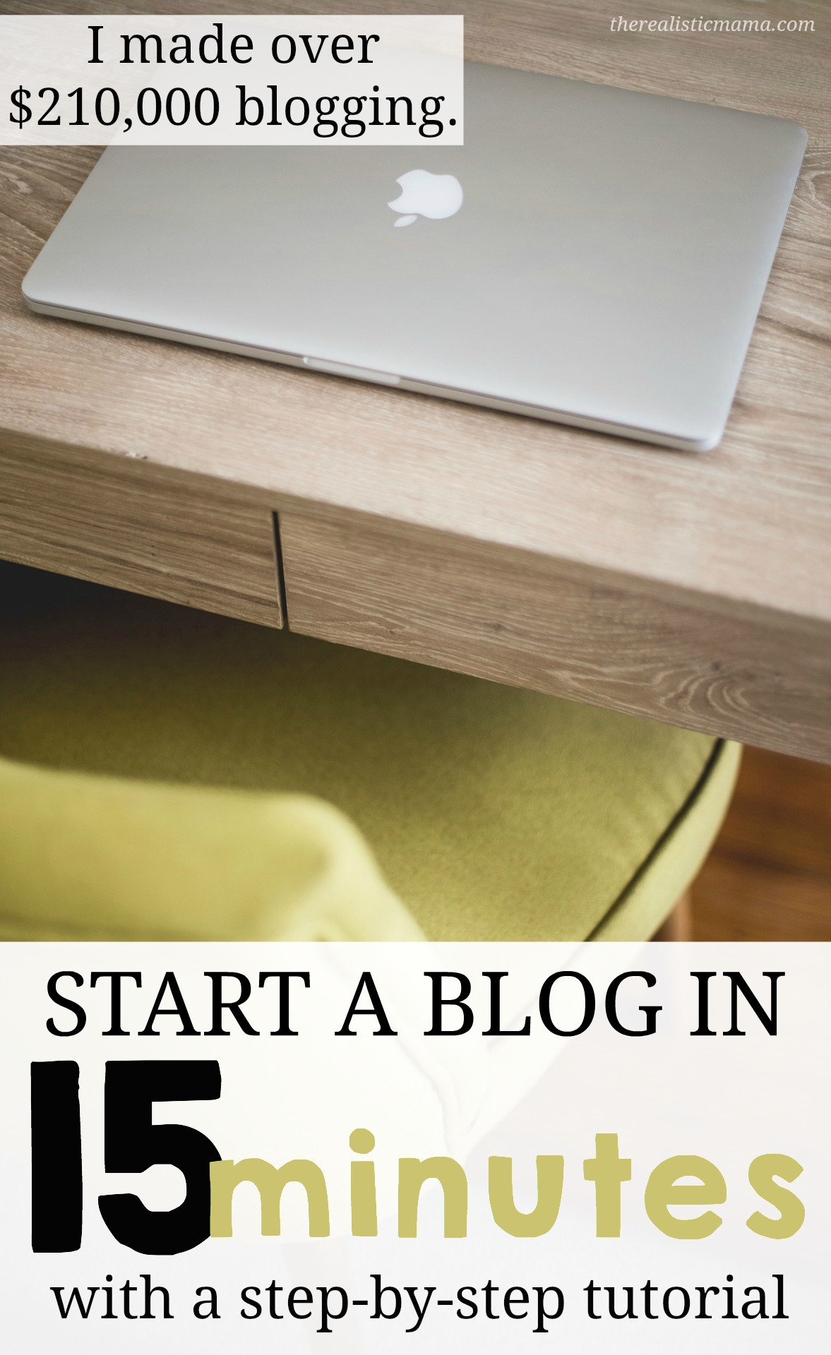 I made over $210,000 (and growing) blogging. How to start a blog in 15 minutes with a step-by-step tutorial. Start a WordPress Blog on Bluehost today.