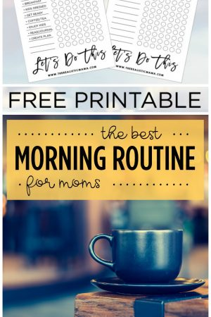 The Best Morning Routine for Moms