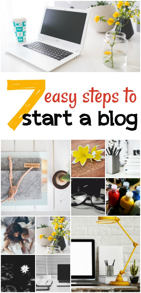 7 EASY steps to start a totally AWESOME blog!