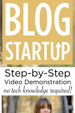 Realistic Blog Startup {Step-by-Step Video Demonstration}