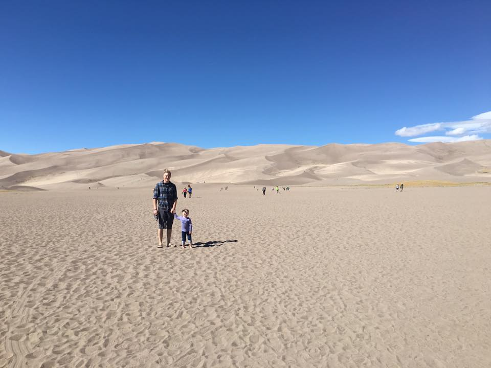 Traveling to the Great Sand Dunes