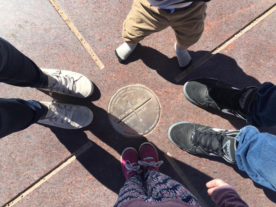 Traveling to the Four Corners