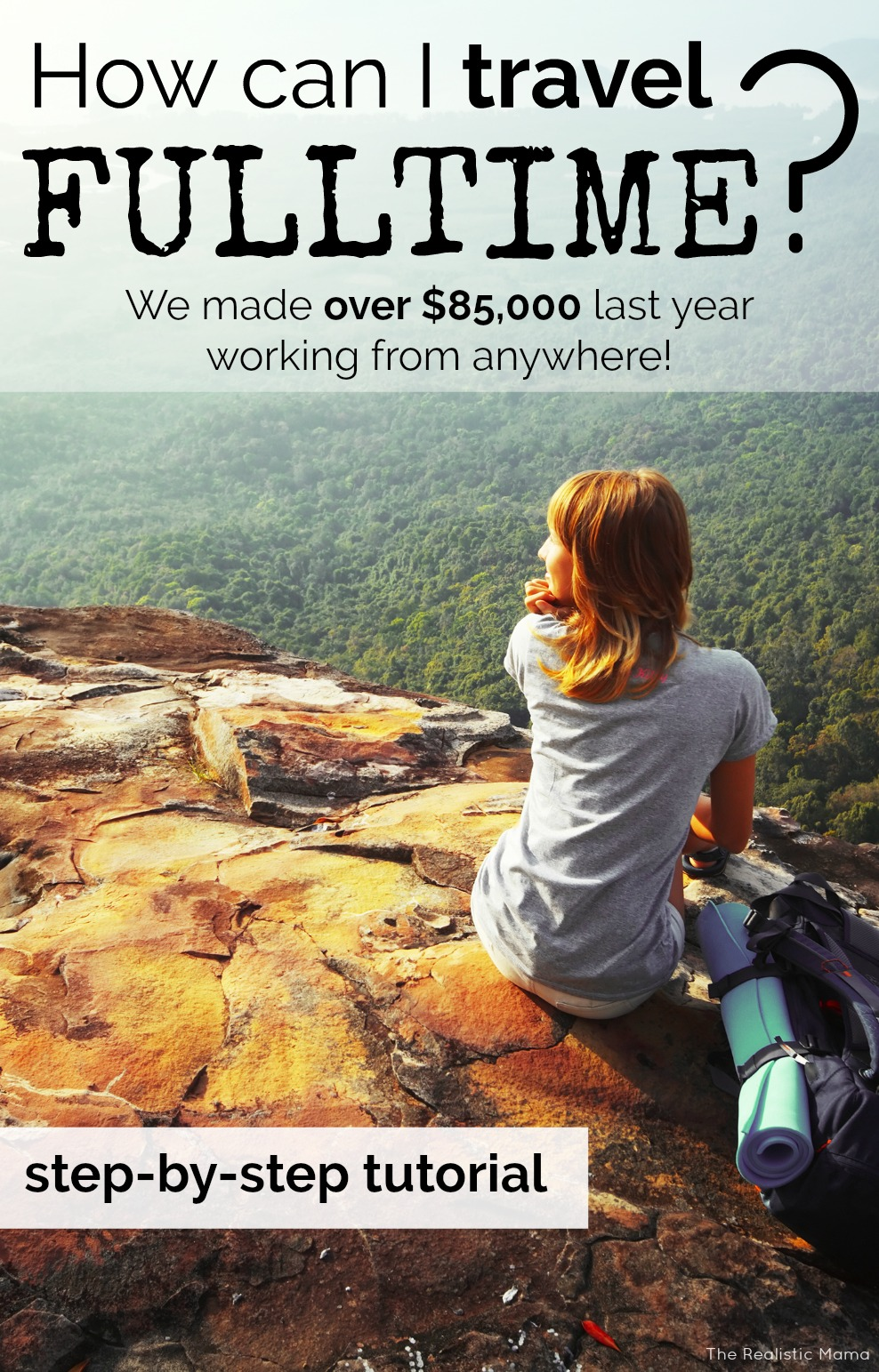 OMG! How to travel full time! And step-by-step tutorial to fund my travel!