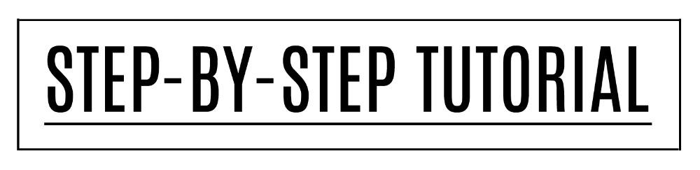 Step-by-step tutorial
