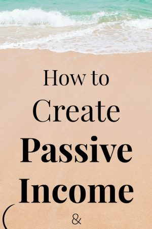 How to Create Passive Income & FREE COURSE!