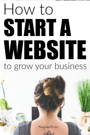 How to Start a Website to Grow Your Business