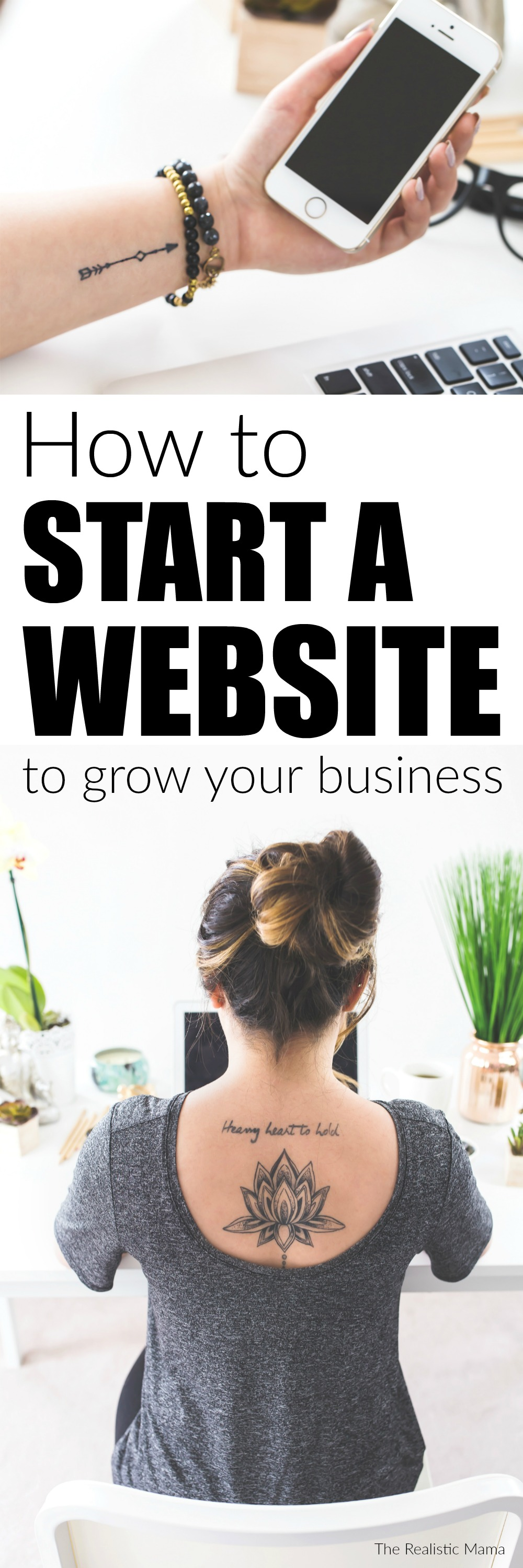How to start a website to grow your business fast!