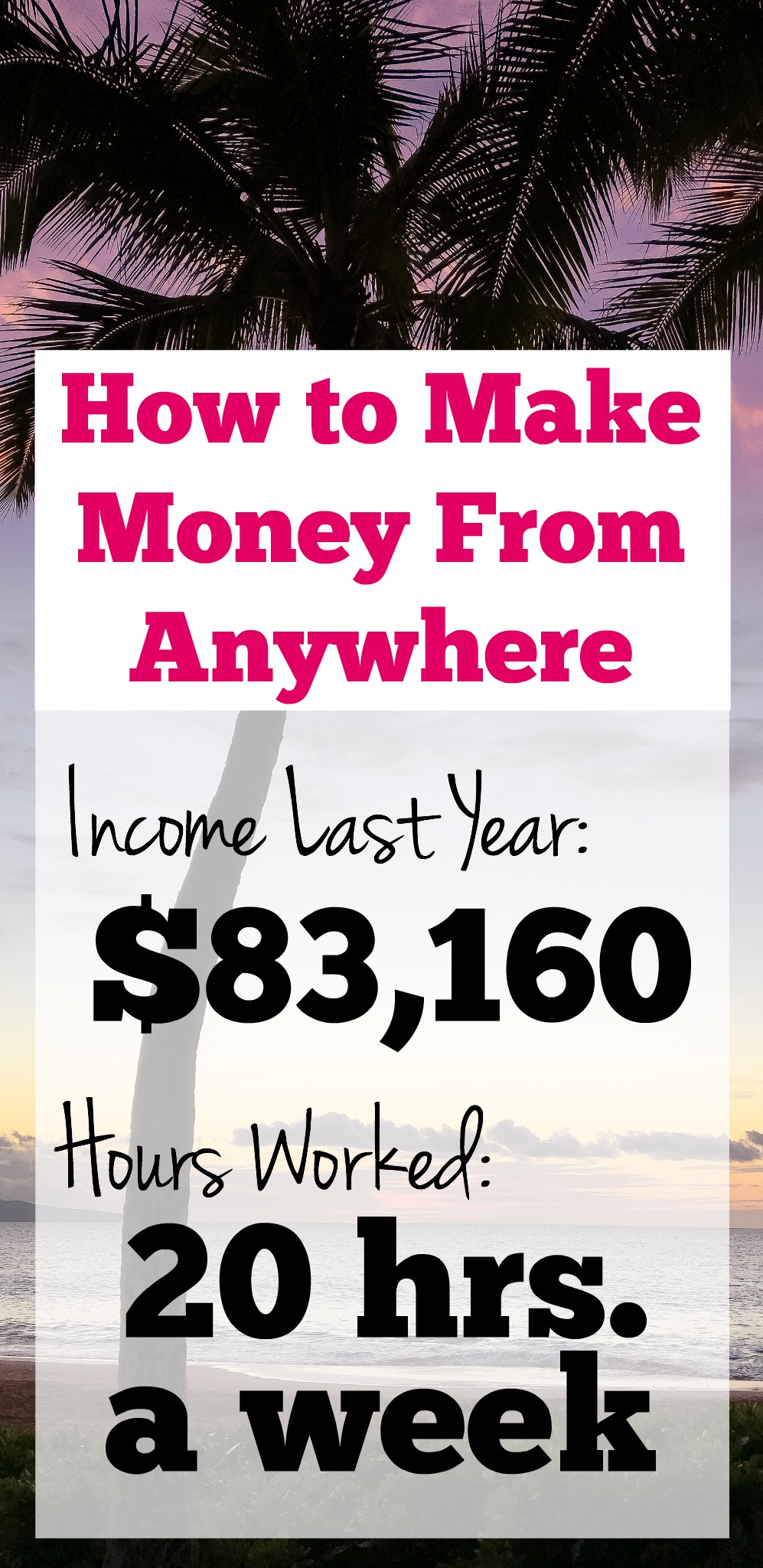 How to Make Money From Anywhere | Start a Blog | Become Location Independent | How to Fund Travel